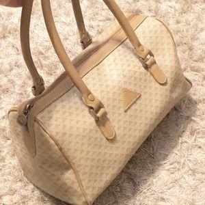 Vintage Liz Claiborne bowling style handbag